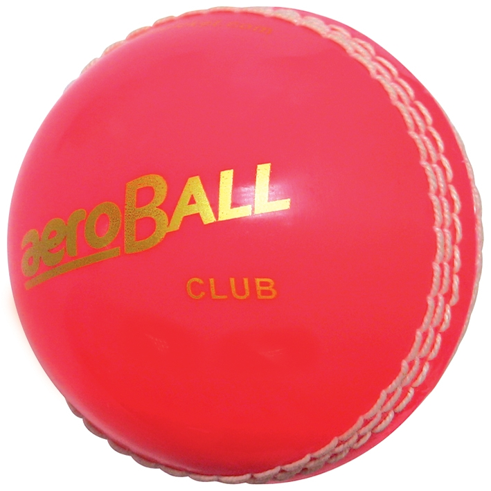 aero Club Cricket Balls Blister Packed Pink